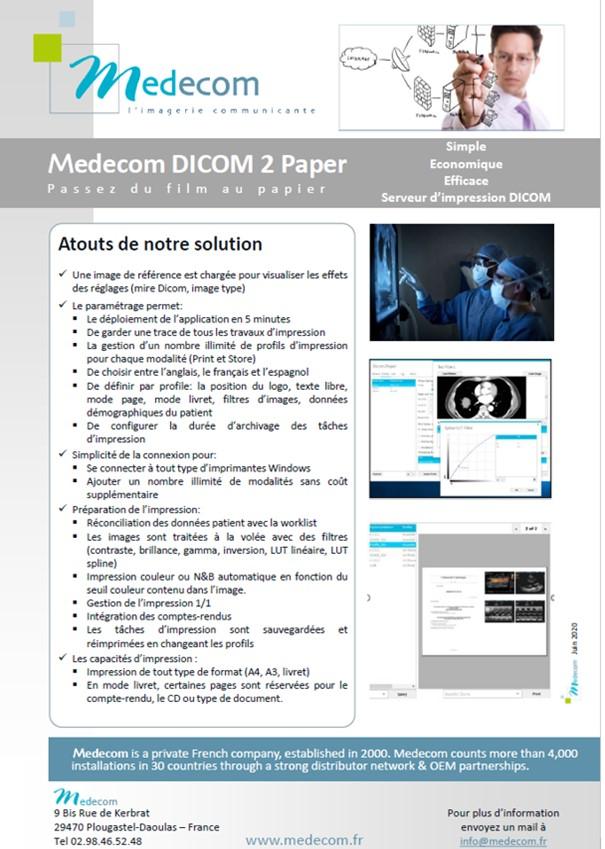 Brochure DICOM2Paper - Printing Gateway