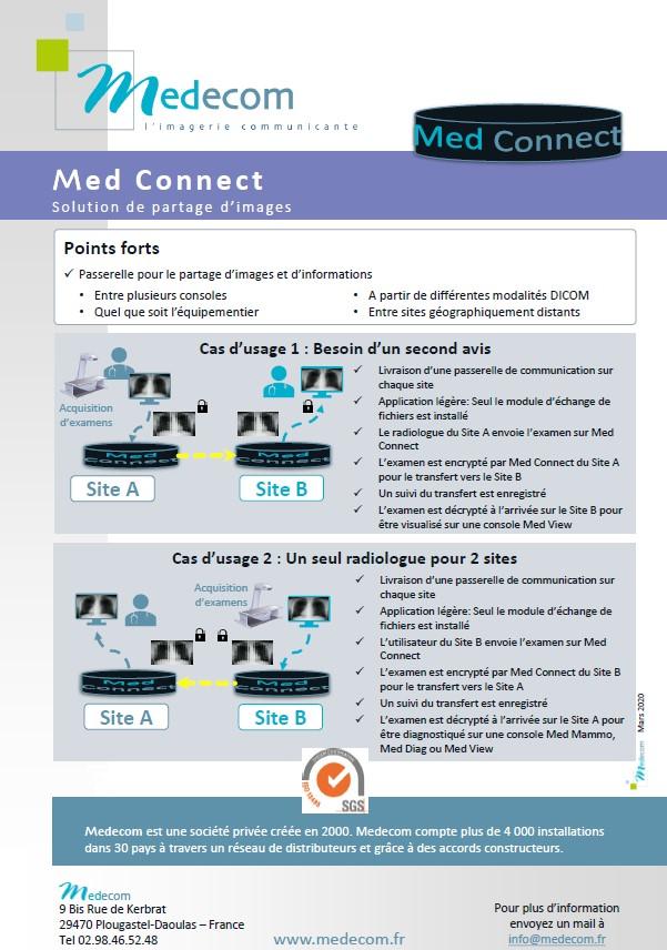 Brochure Med Connect - Communication Gateway