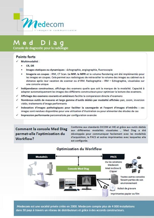 Brochure Med Diag - Multimodality Diagnostic Workstation for Radiology