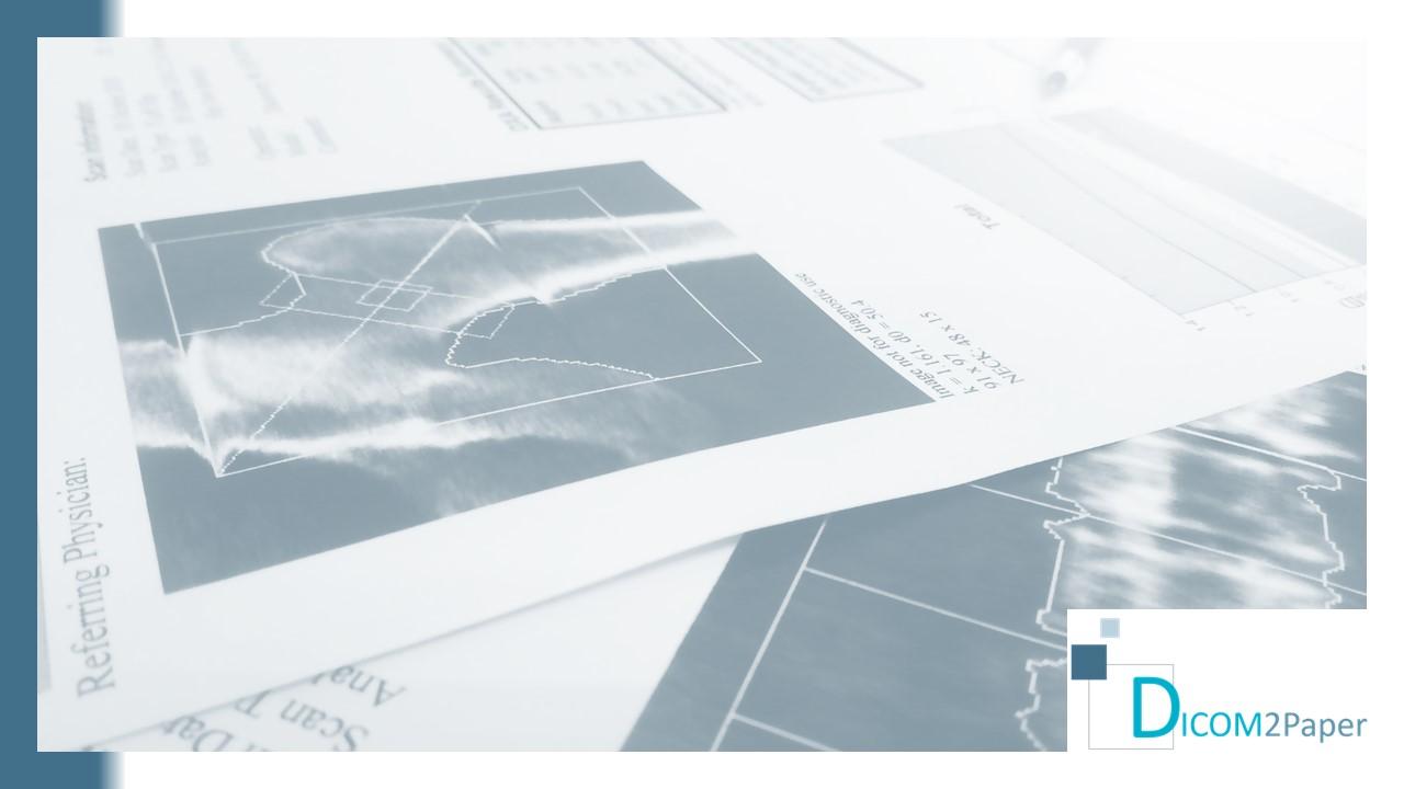 DICOM2Paper - Pasarela de impresión